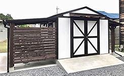 日本風物置小屋キットです。