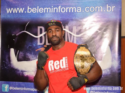 De Belém para Moscou, para lutar no MMA Russo.
