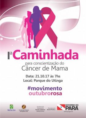 I Caminhada para Conscientização do Câncer de Mama