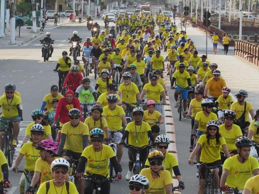Sesc realiza passeio ciclístico em quatro cidades do Pará