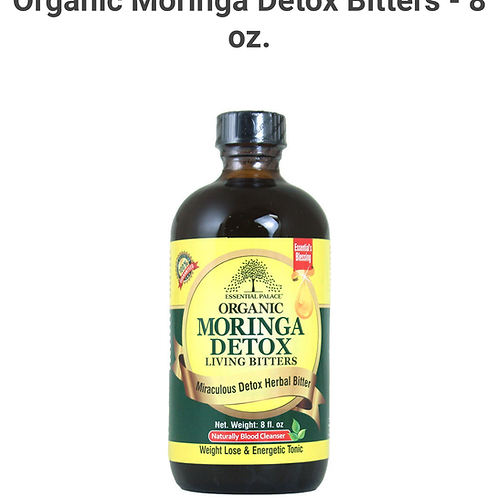 Organic Moringa Detox 8 oz.