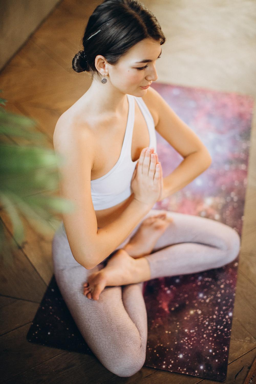 Expat during Mindfulness Meditation exercise