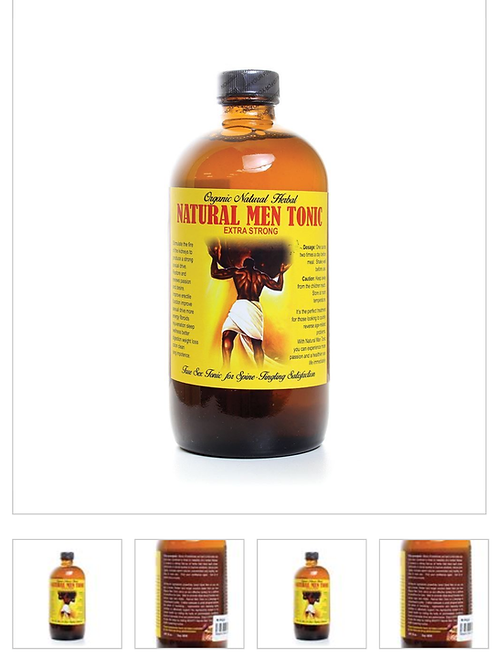 Natural Men Tonic ~ Libido Boost 16 oz.