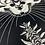 Thumbnail: Treasure Hunter - linocut misprint