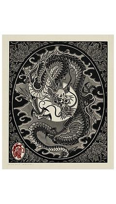 Dragon - Grey