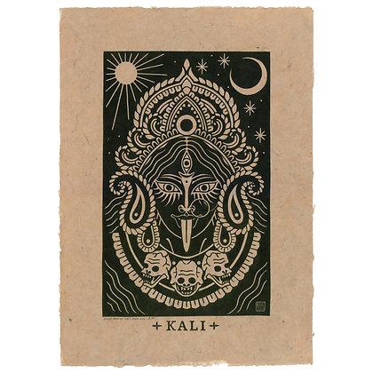 Kali on Bhutanese paper