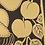 Thumbnail: Single layer gold linocut misprints
