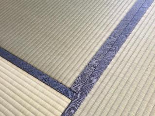 ひのさくら 鮫小紋柄畳縁 ヘリ付き畳