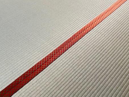 今年、新発売の畳縁を初めて使いました