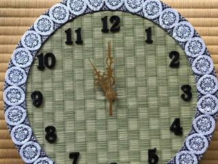 畳時計 新調