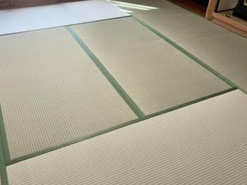 新畳:熊本県産畳表(ひのさらさ)