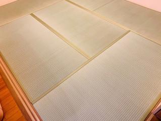 表替え / 熊本産畳表「ひのはるか」(経糸:綿々、三番草)