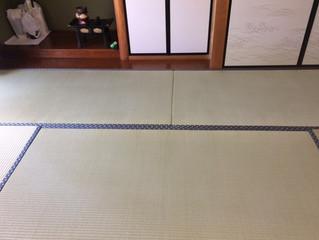 5年前に表替えのお客様 隣のお部屋を熊本男前表で施工