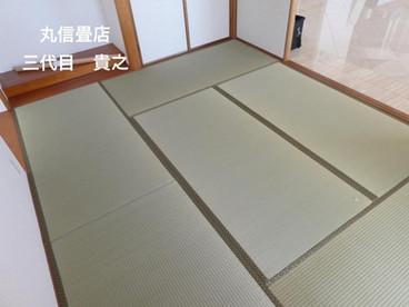 表替え / 熊本県産 ひのみどり品種 男前表 麻綿表 絞り目表使用