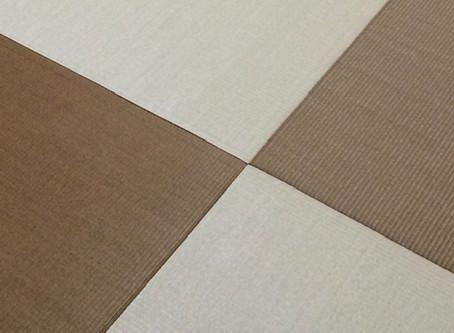 好きな色が組み合わせられる畳