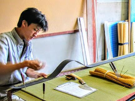 吉村畳店:畳製作2