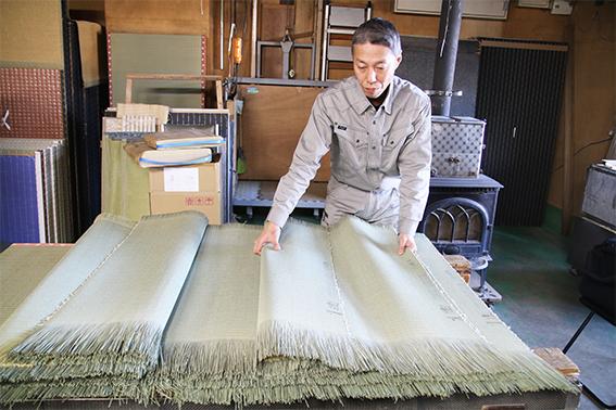 畳の製作①