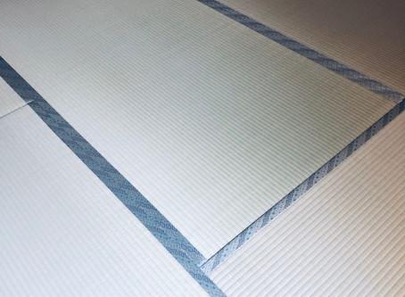 中井工業社としては珍しい畳縁が選ばれました