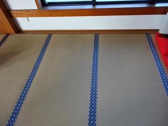 寺院 / 畳の寸法調整