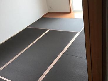 新畳の入替