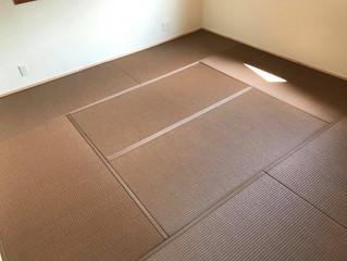 カラー畳の施工