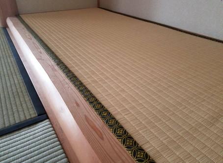 表替え / 10畳間・縁側・床の間