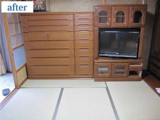 畳替え時の家具移動も当店にお任せ!