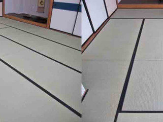 集会所/茶室の畳入れ替え工事