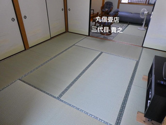 表替え / 国産畳表 涼風品種 綿々表使用
