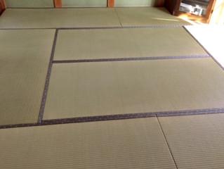 熊本県産畳で表替え