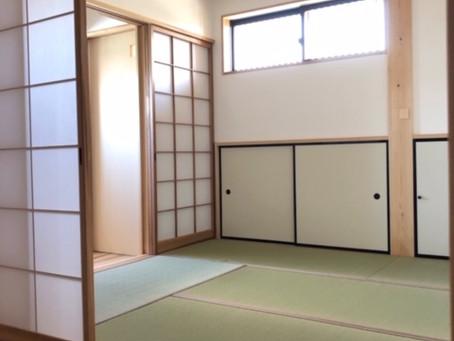 1階と2階に和室を配置していただきました
