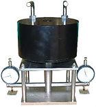 局部圧縮試験機、化畳床の局部圧縮試験装置