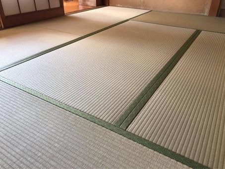 新畳 / 縁付畳(和紙表 若草色)