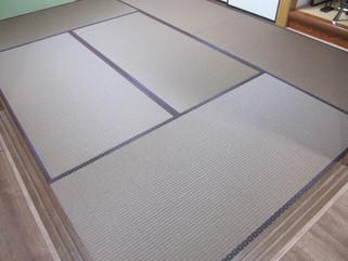 既存畳の摩耗が気になりダイケン和紙表にて表替えのM様