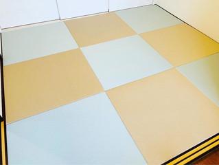 新畳 / ダイケン清流畳表 青磁色、灰桜色