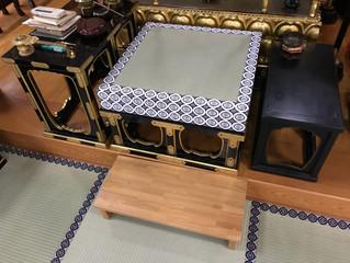 寺院の畳替え:名古屋市内