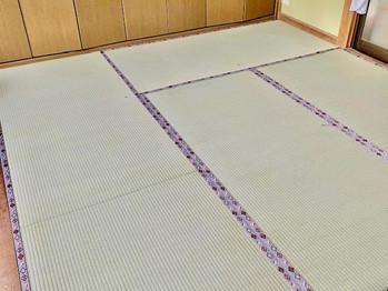 新畳:熊本県産畳表(麻綿引)