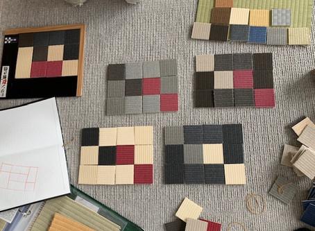 畳と言えばミドリ色、は間違い?