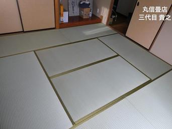 表替え / 熊本県産 ひのみどり 麻綿表 & 障子 / 強化紙