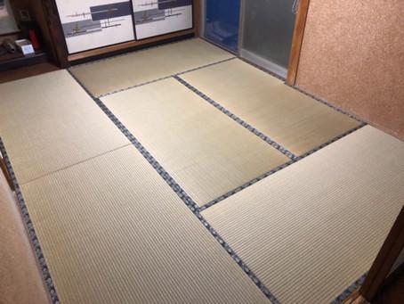 畳の裏返しと床板の交換