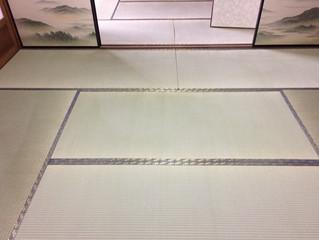 お孫さんのために熊本県産畳で新畳にて施工