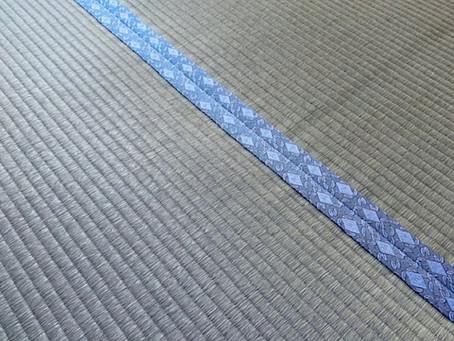 金閣寺方丈の畳と同じ織師さんの畳表を使った表替えでした