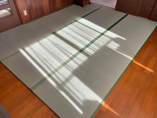 新畳 / 熊本産畳表「ひのはるか」(経糸:綿々)