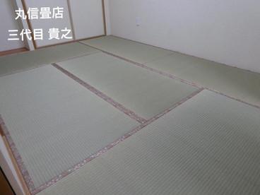 表替え / 安心国産畳表クラス 涼風品種 綿々表使用