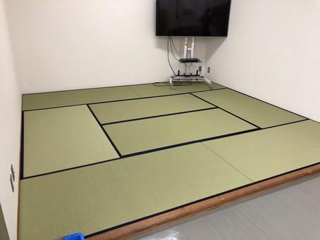 社員休憩室畳のメンテナンス