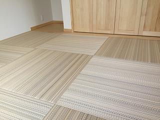オシャレな縁なし半畳 カラー畳