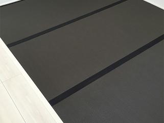 モダンな黒色カラー畳
