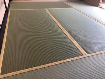 工務店様でリフォームされたお客様、畳だけは当店でお願いしたいとご指名