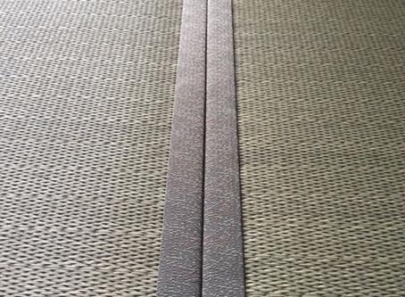 みなさんがよく知る畳と違うのがお分かりいただけますか?