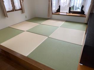 畳とクロス(壁紙)の張替え